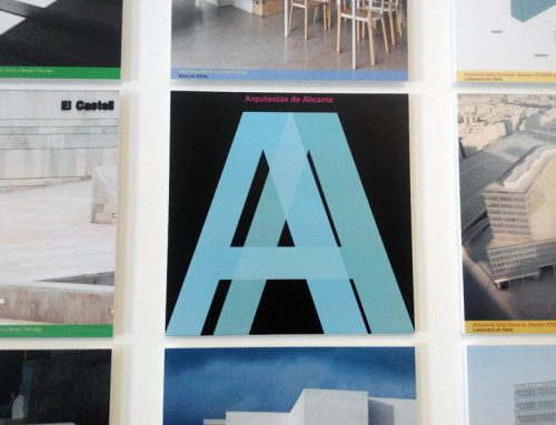 5 of our works in the exhibition Architects of Alicante