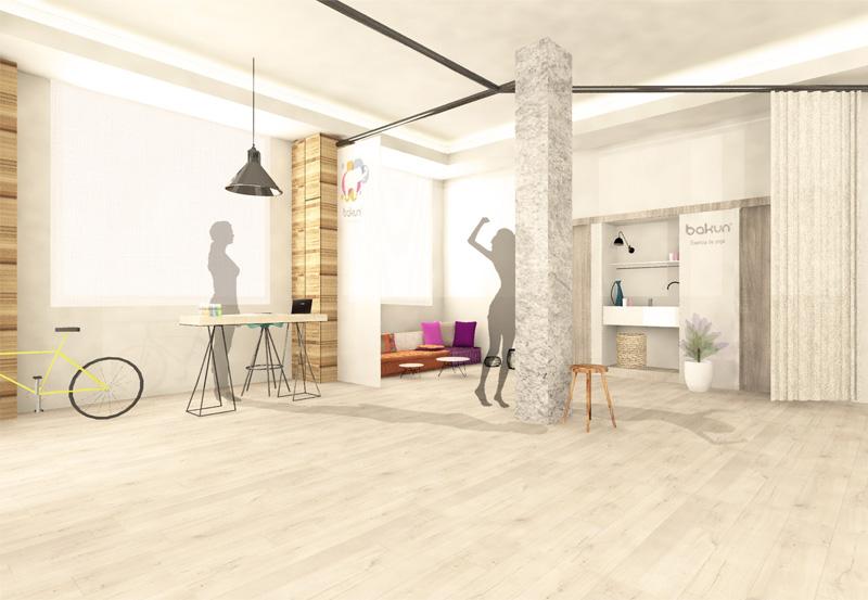 Escuela de yoga bakun interiorismo loft 26 estudio - Escuela de interiorismo ...