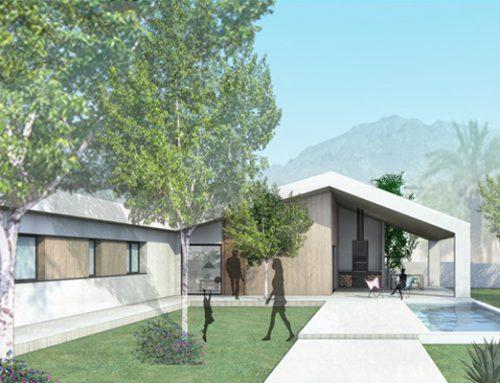 VIVIENDA EN EL CAMPO (arquitectura)